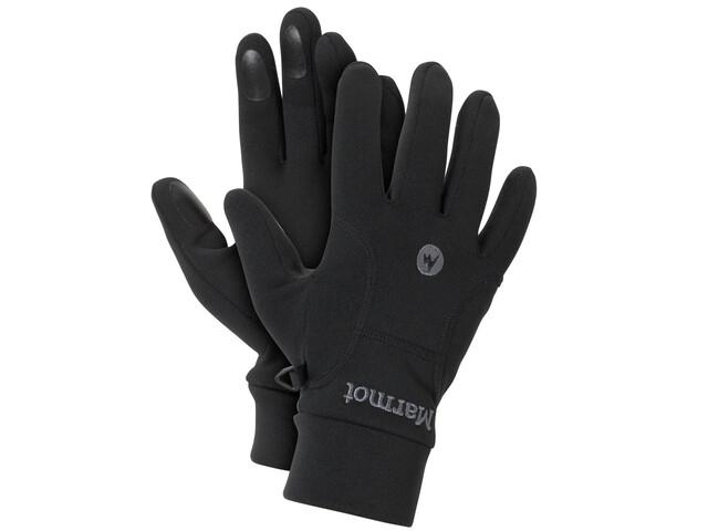 Marmot Power Stretch Gloves Men Black